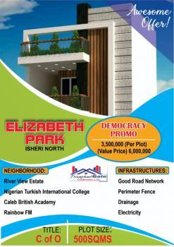 Land, Elizabeth Park Estate, Isheri, Berger, Arepo, Ogun, Mixed-use Land for Sale