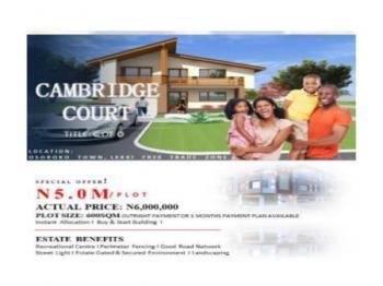 Land  600sqm, Oshoroko. Along Lekki Free Trade Zone., Osoroko, Ibeju Lekki, Lagos, Residential Land for Sale