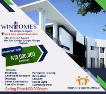 Estates Land, Orchid Road, Lafiaji, Lekki, Lagos, Residential Land for Sale