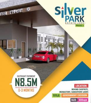 Estate Land with Excision, Behind Shoprite Off Monastery Road, Sangotedo, Ajah, Lagos, Residential Land for Sale