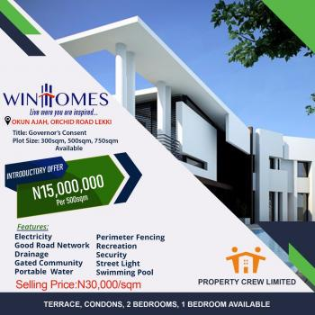 100% Dried Land with Good Title, Orchid Road By Chevron, Lekki Expressway, Lekki, Lagos, Residential Land for Sale