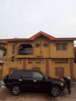 Block of 4flat 2bedroom Upstairs, Off Aborisade Street, Lawanson, Surulere, Lagos, Flat for Rent