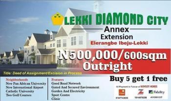 100% Dry Land, Lekki Epep Express, at Elerangbe Ibeju Lekki, Eleranigbe, Ibeju Lekki, Lagos, Residential Land for Sale