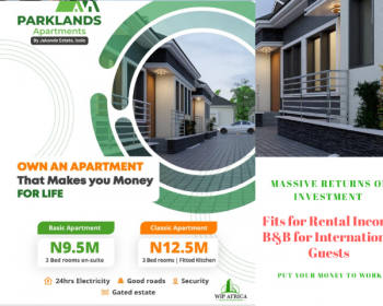 Luxury 3 Bedrooms Ensuit with Noiseless 24hrs Light, Elemu Bus Stop, Bucknor Gra By Jakande Estate Isolo, Ago Palace, Isolo, Lagos, Semi-detached Bungalow for Sale