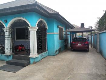 Standard Semi Detached Bungalow of 3,2,1 Bedroom and 2 Stores, Osubi, Okpe, Delta, House for Sale