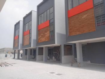 a Newly Built 4 Bedroom Terrace House with a Room Boys Quarter, Off Kunsenla Road, Ikate, Ikate Elegushi, Lekki, Lagos, House for Sale