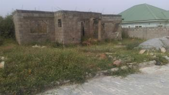 a Bungalow of 3 Bedroom + 1 Bedroom Flats, After Trade Moore Estate, Lugbe District, Abuja, Detached Bungalow for Sale