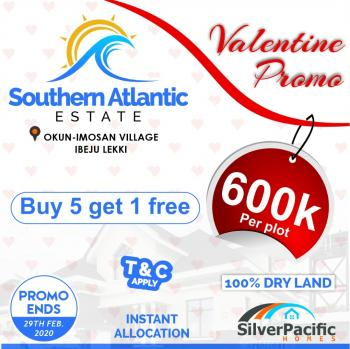 100 Dry Land. Get Instant Allocation, Southern Atlantic Villas, Some Minutes From Tropicana Beach Resort, Ibeju Lekki, Lagos, Mixed-use Land for Sale