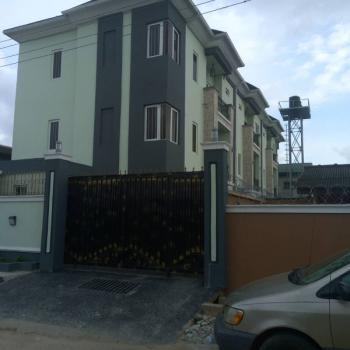 a Block of 3 Units 3 Bedroom Terrace Apartment with a Bq., Ogunlana, Surulere, Lagos, House for Sale