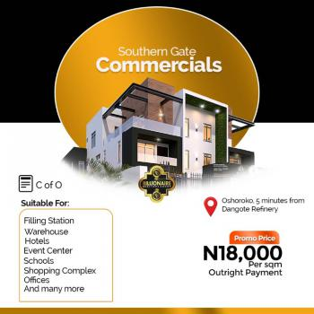 Land for Commercial Use, Facing The Lekki Epe Expressway, Osoroko, Ibeju Lekki, Lagos, Commercial Land for Sale
