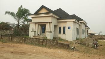 Newly Built 4bedroom Bungalow, Opposite Plantation City By Otokutu Junction, Warri, Delta, Detached Bungalow for Sale