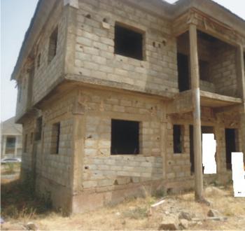 3 Bedroom Semi-detached Duplex  Carcass, Gaduwa, Abuja, Semi-detached Duplex for Sale