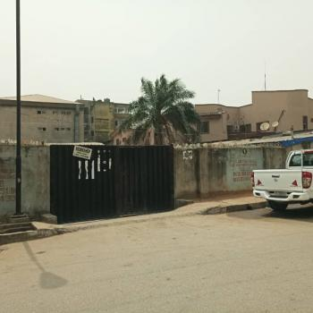 Fenced with Gate 2 Bedroom Apartment on 1350sqm, Off Agbaoku Street, Opebi, Ikeja, Lagos, Residential Land for Sale