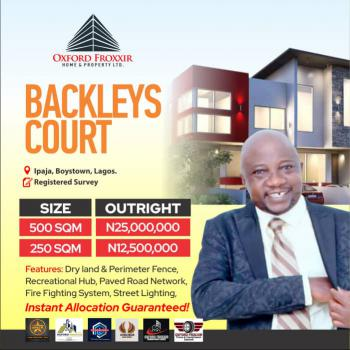 Plots of Land Available, Boys Town, Ipaja, Lagos, Mixed-use Land for Sale