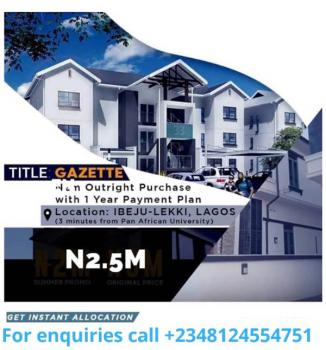 Gazetted Land with Approved Layout, Few Minutes From Pan Atlantic University, Eleko, Ibeju Lekki, Lagos, Residential Land for Sale