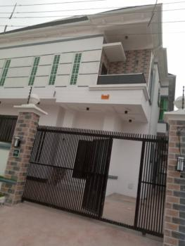 Newly Completed 4bedroom Semi Detached Duplex with a Room Bq., Osapa, Lekki, Lagos, Semi-detached Duplex for Sale