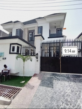 Powerful 4 Bedroom Duplex, Chevron, Igbo Efon, Lekki, Lagos, Semi-detached Duplex for Rent