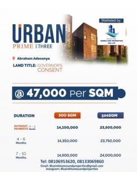 Urban Prime Three, Ogombo, Ajah, Lagos, Residential Land for Sale