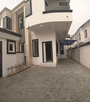 a Brand New 4 Bedrooms Duplex with a Bbq and Inverter, Chevron Drive, Lekki, Lagos, Semi-detached Duplex for Rent