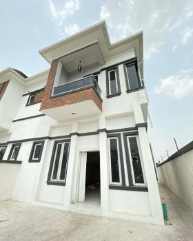 Brand New 4 Bedroom Semi Detached with Bq, Orchid Road Before Megachiken, Lafiaji, Lekki, Lagos, Semi-detached Duplex for Sale