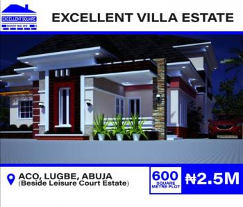 Plots Now Available, Beside Leisure Court By Aco Eatate Sabon., Sabon Lugbe, Lugbe District, Abuja, Residential Land for Sale