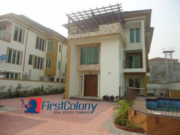 Massive, Upscale, 5 Bedroom Detached House on Large Grounds, Residential Zone, Banana Island, Ikoyi, Lagos, Detached Duplex for Rent