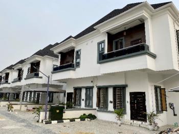 Fully Serviced 4 Bedroom Semi Detached Duplex Plus Bq, Just After Chevron (2nd Toll Gate ), Ikota, Lekki, Lagos, Semi-detached Duplex for Sale