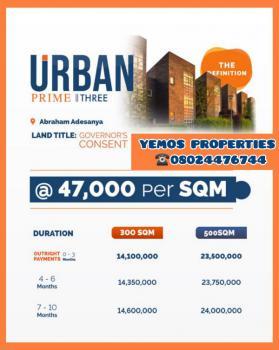 Urban Prime 3 /total Package, 2 Mins Drive From Abraham Adesanya Junction, Ajiwe, Ajah, Lagos, Residential Land for Sale