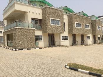 Brand New 4 Bedroom Serviced Terraced Duplex with Bq, Pool, Katampe Extension, Katampe, Abuja, Terraced Duplex for Rent