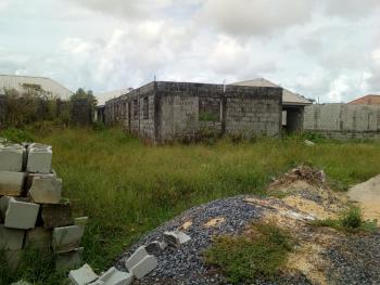 Carcass of 3 Nos Mini Flat on Half Plot, Igbojia Shapatti, Bogije, Ibeju Lekki, Lagos, Mini Flat for Sale