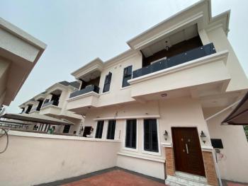 Fully Serviced 4 Bedroom Semidetached Duplex with Bq, Chevron, Lekki, Lagos, Semi-detached Duplex for Sale