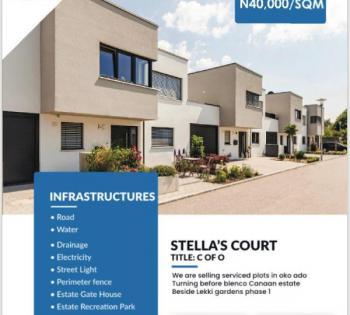 Land, Beside Lekki Gardens Phase 1, Moremi Scheme, Oko-ado,off Blen, Ado, Ajah, Lagos, Mixed-use Land for Sale