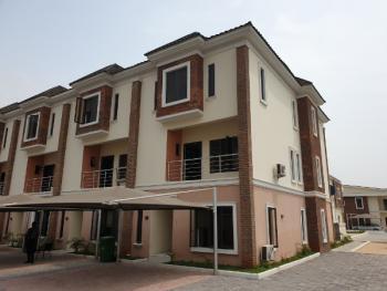 Luxury Finished 4 Bedroom Terrace, Abiola Court 13, Ikate, Ikate Elegushi, Lekki, Lagos, Terraced Duplex for Rent
