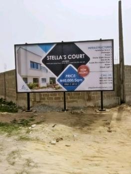 Land, Stellas Court Estate, Sangotedo, Ajah, Lagos, Residential Land for Sale