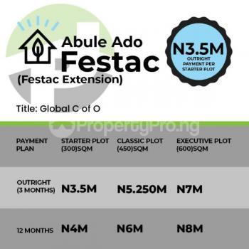 Plots of Land, Festac Extension, Abule Ado, Festac, Amuwo Odofin, Lagos, Land for Sale