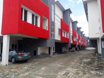 an Executive 4 Bedroom Terraced Duplex with a Room Boys Quarter, Kusenla Street, Ikate Elegushi, Lekki, Lagos, Terraced Duplex for Rent