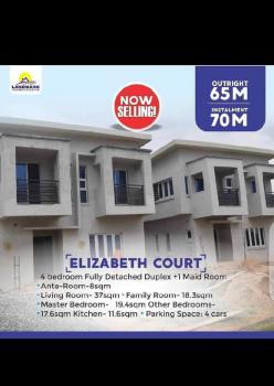 Newly Exotic 4 Bedroom Detached Duplex + Maids Room, Queens Gerden Estate, Isheri North, Berger., Gra, Isheri North, Lagos, Detached Duplex for Sale