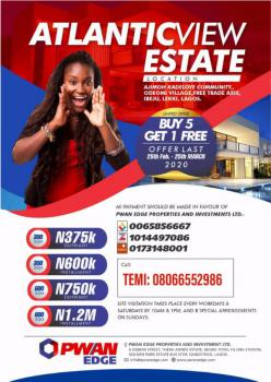 Land, Atlantic View Estate, Ode-omi Community, Free Trade Axis, Folu Ise, Ibeju Lekki, Lagos, Mixed-use Land for Sale