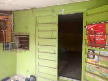 Lock Up Shop Facing The Major Road, Egbeda/ Akowonjo Round About, Opposite Accessbank, By Traffic Light, Akowonjo, Alimosho, Lagos, Shop for Rent