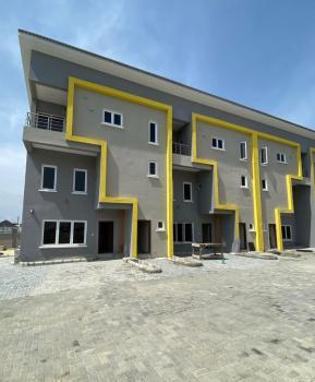 Brand New and Serviced 3 Bedroom Terraced Duplex, Off Orchid Hotel Road, Lafiaji, Lekki, Lagos, Terraced Duplex for Rent