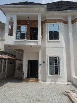 Self Service 4bed Rooms Semi Detected Duplex with a Bq, Off Orchid Road By Chevron Toll Gate, Lafiaji, Lekki, Lagos, Semi-detached Duplex for Rent