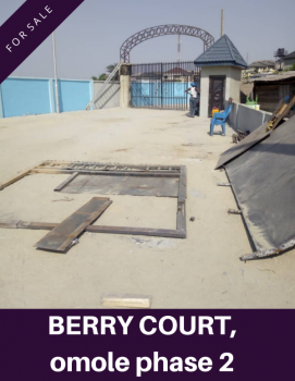 Affordable Land in a Developed Estate, Close to Omole Phase 2, Gra, Magodo, Lagos, Mixed-use Land for Sale