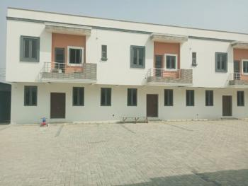 Exotic 3 Bedroom Terrace Duplex with Bq, Close to The Toll Gate Axis at Chevron Lekki. Before Vgc, Lekki, Lagos, Detached Duplex for Sale