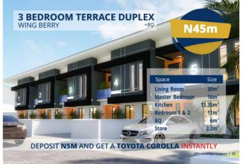 Luxurious 3 Bedroom Terrace Duplex Offplan, Omole Phase 2 Sharing Boundary with Magodo, Magodo, Lagos, Terraced Duplex for Sale
