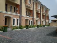 Brand New, Luxuriously Finished And Serviced 4 Bedroom Townhouse With Boys Quarter And Swimming Pool, Osapa, Lekki, Lagos, 4 bedroom, 5 toilets, 4 baths Terraced Duplex for Sale