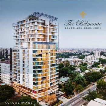 Ultra Luxury 4 Bedroom High-rise, 3 Bq + High-end Fully Fitted Kitchen, The Belmonte, Bourdillon, Ikoyi, Lagos, Block of Flats for Sale