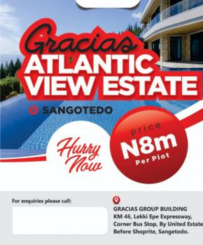 Estate Land, Behind Novare Mall, Sangotedo, Ajah, Lagos, Residential Land for Sale