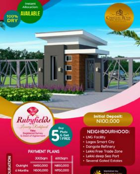 Estate Land, Facing Tarred Road ,tropicana Beach Resort., Eleko, Ibeju Lekki, Lagos, Residential Land for Sale