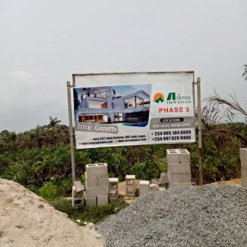 Ashron View Estate, Ibeju-agbe3 Minutes Drive Away From Lekki-epe Expressway, Ibeju Lekki, Lagos, Mixed-use Land for Sale