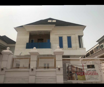 Brand New 4 Bedroom Fully Detached Duplex in a Gated Estate, Lekki Phase 1, Lekki, Lagos, Detached Duplex for Sale